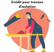 Rachat de crédit  immobilier avec trésorerie pour des travaux d'isolation