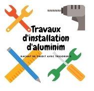 Rachat de crédit immobilier avec trésorerie pour travaux d'installation aluminium